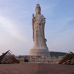 Statue of the Goddess Mazu by rvandermaar